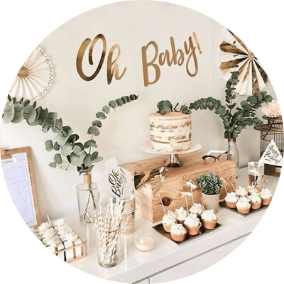 organisation baby shower gender party private events les moments m wedding planner lyon