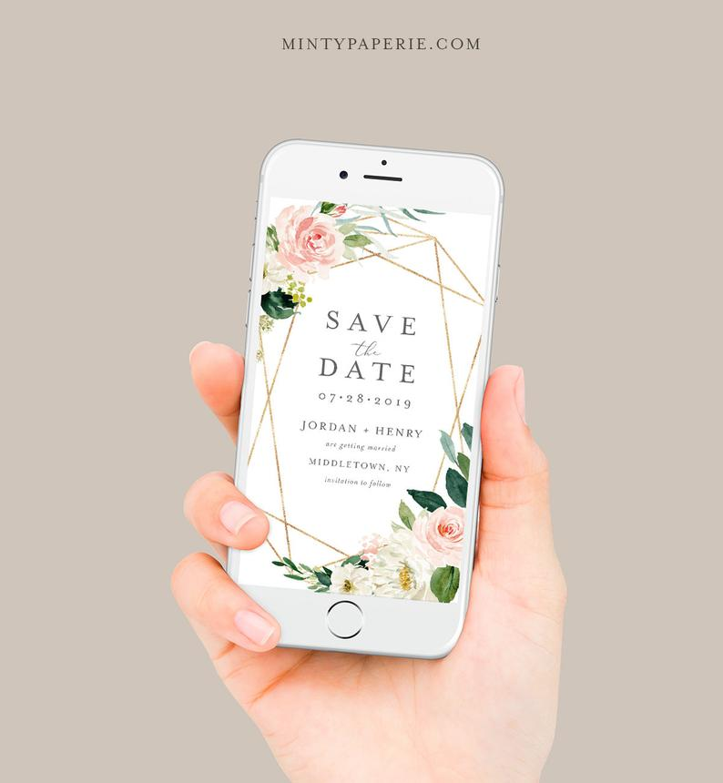 save the date digital mariage