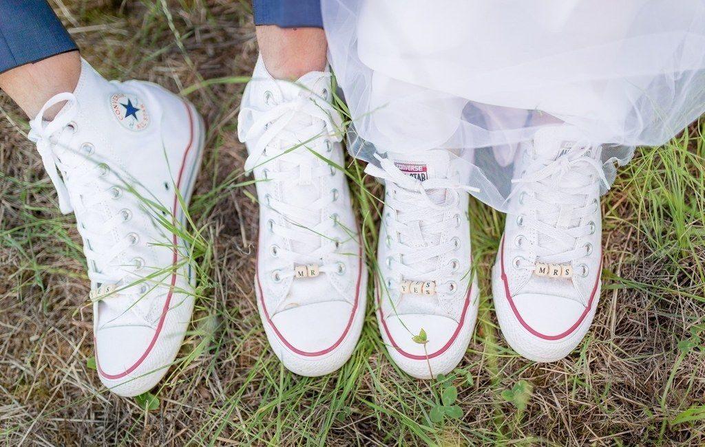 Se marier en baskets - Blog Les moments M - Wedding Planner Lyon