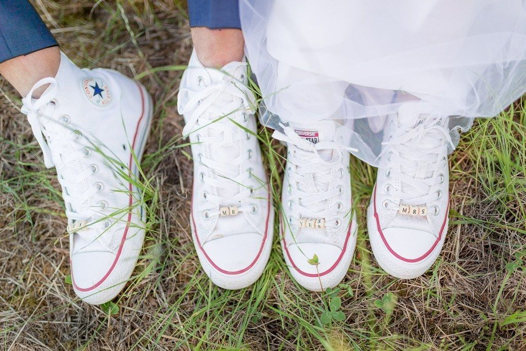 Se marier en baskets - Blog Les moments M - Wedding Planner Lyon