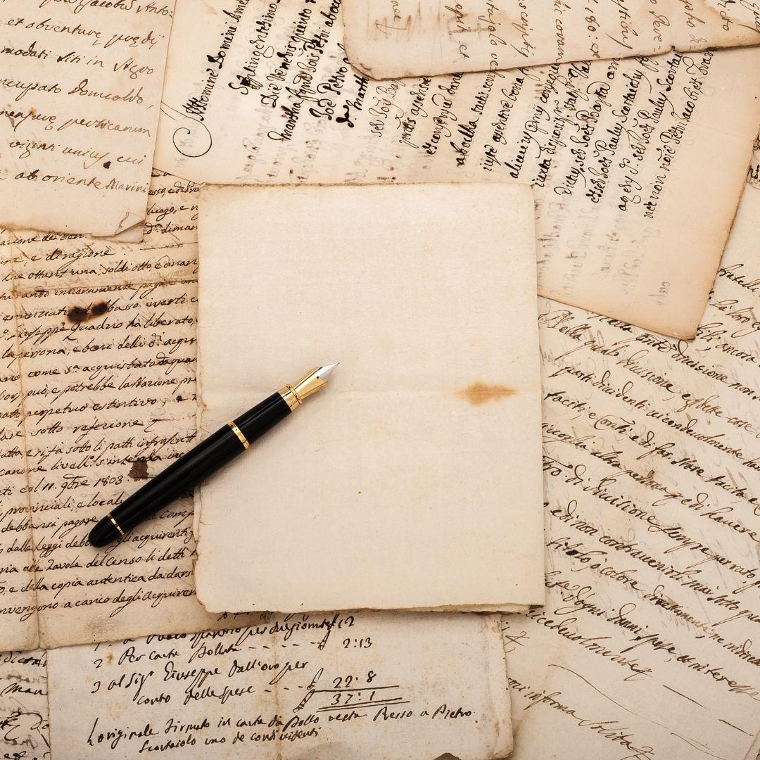 lettre manuscrite temoin
