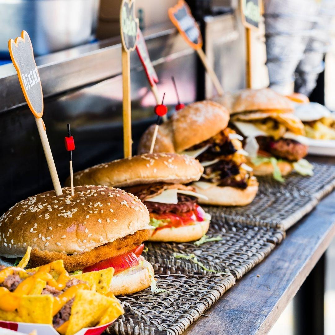 street food food truck wedding