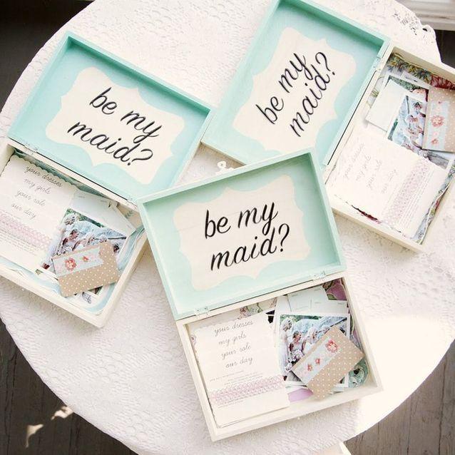 box à souvenirs mariage
