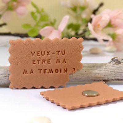 rôle temoin biscuit - wedding planner lyon