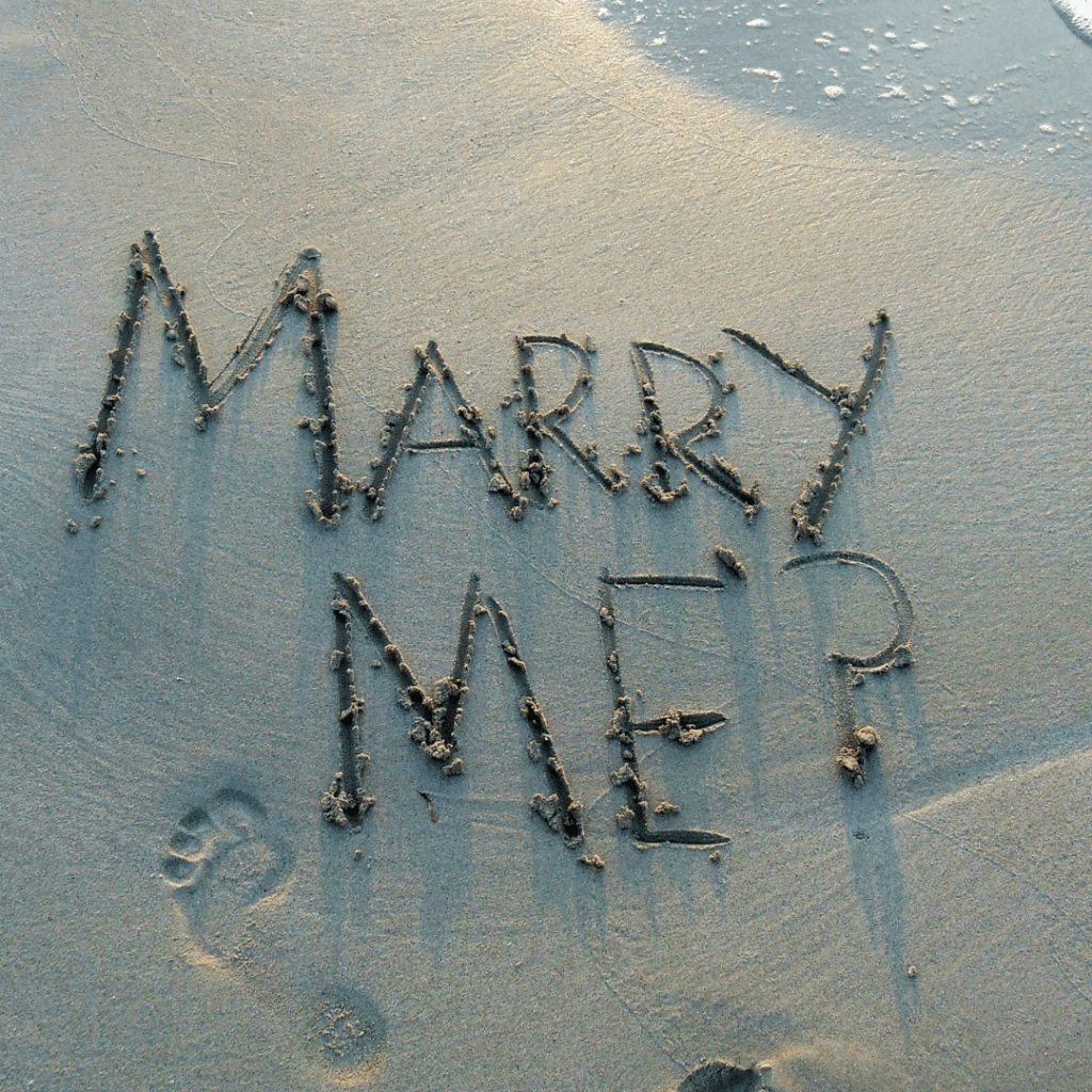 wedding proposal france