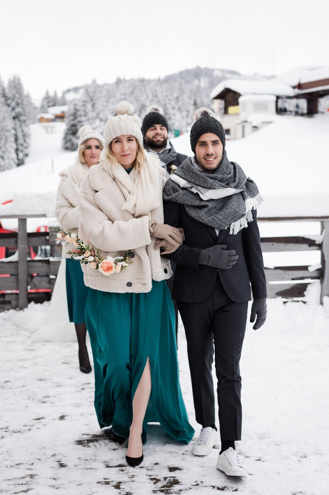 fugue amoureuse - mariage hiver - wedding planner lyon les moments m