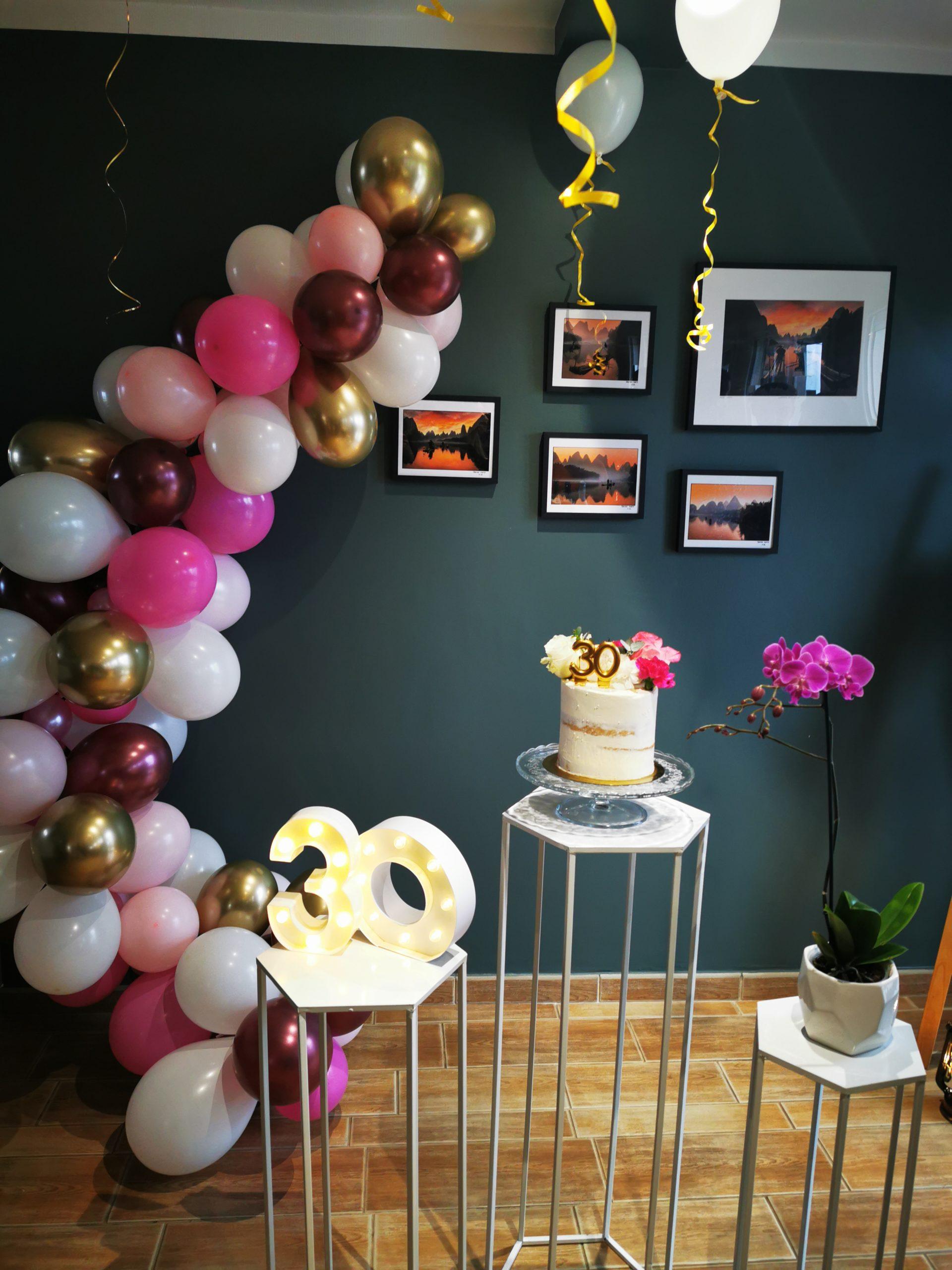 organisation anniversaire - 30 ans - event planner lyon les moments m